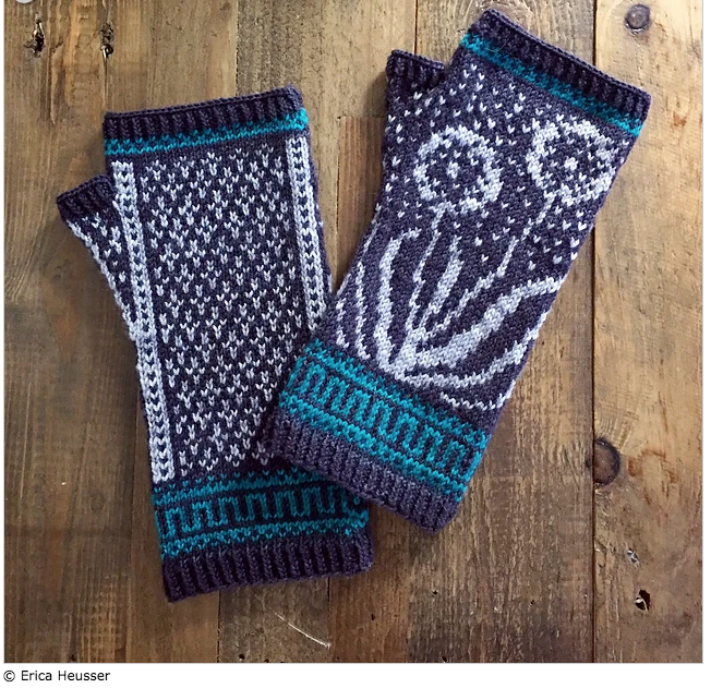 Wishmaker Mitts designed by Erica Heusser