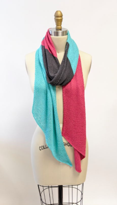 Color Blocked Scarf Kit