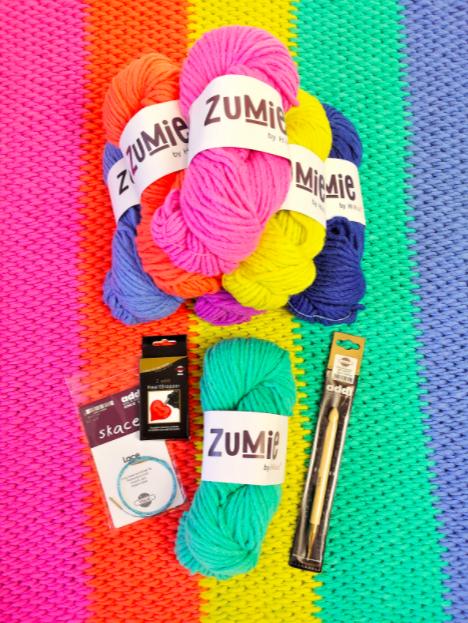 Goblin Blanket Crochet Kit by Anastasia Sizemore
