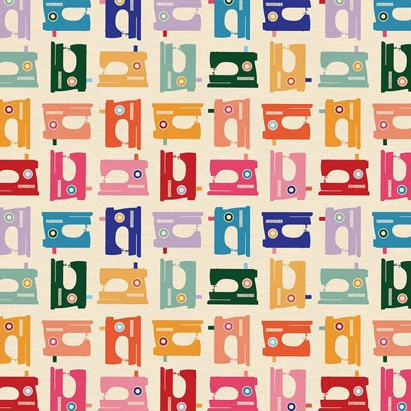 Sewing Machines in Bright - Paintbrush Studios