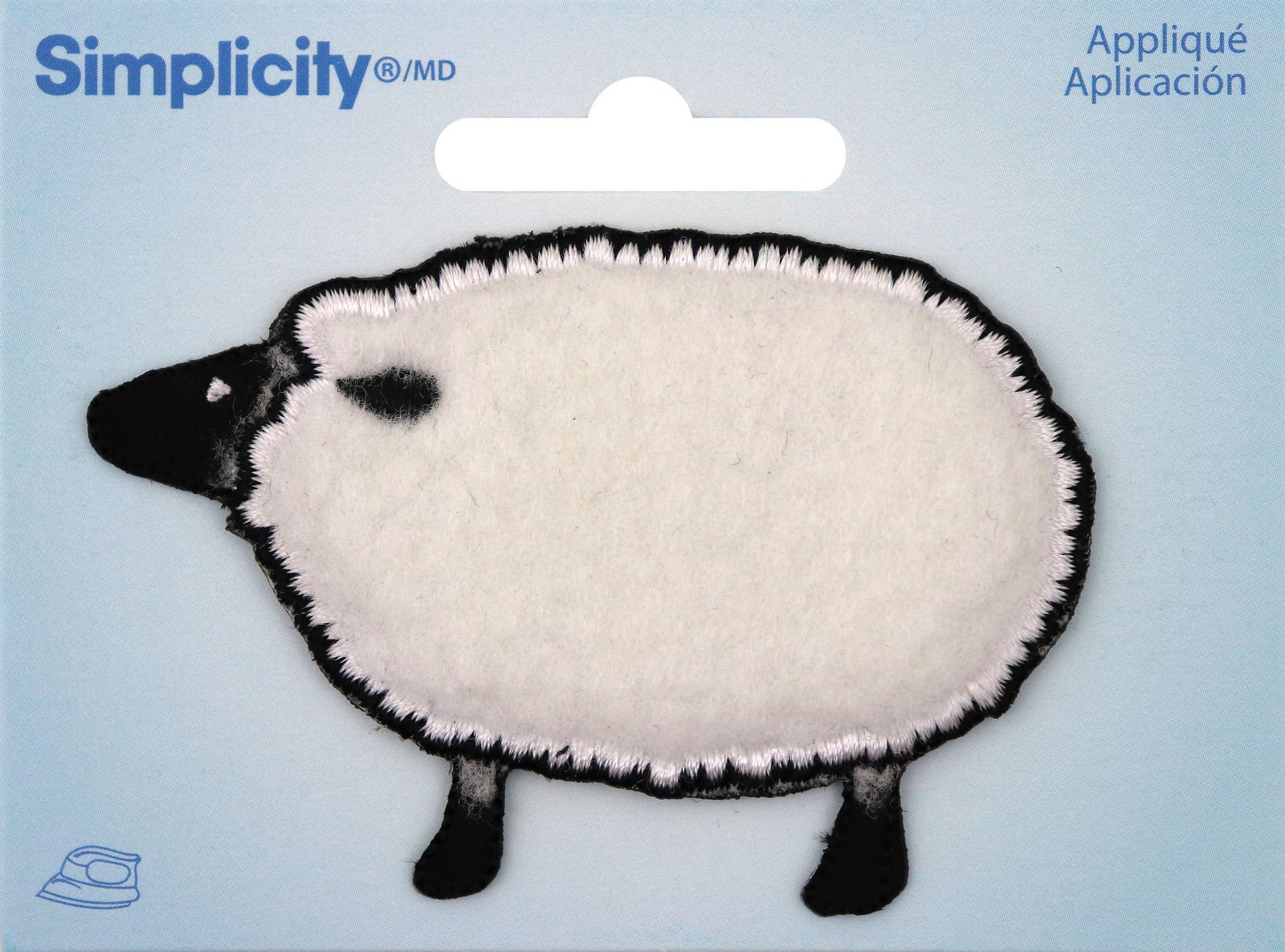Sheep applique patch