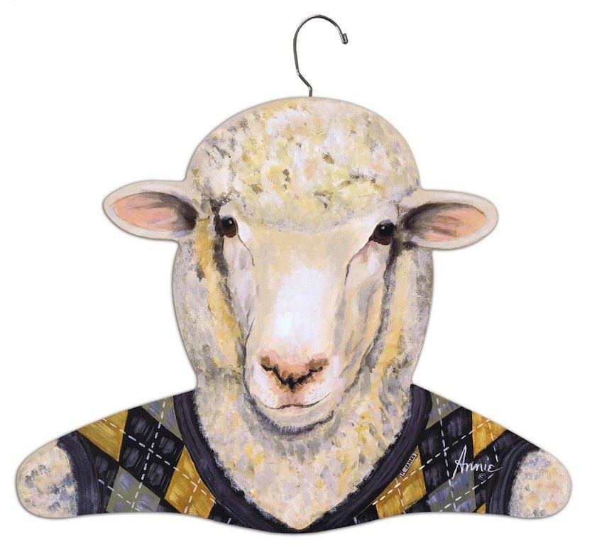 Wooden Sheep Hanger