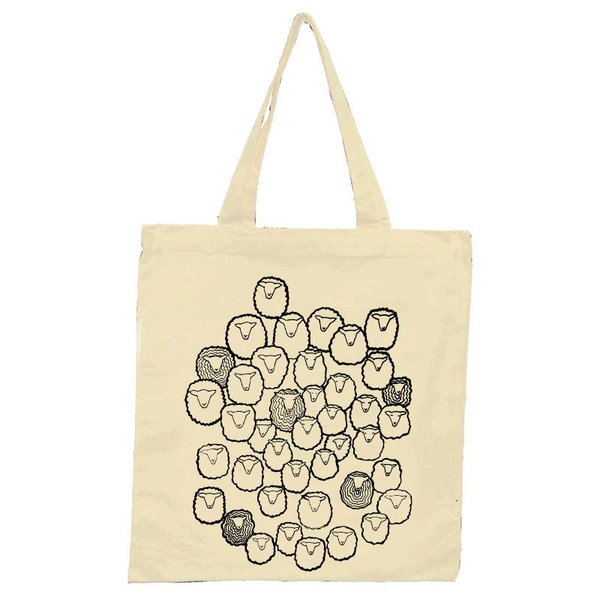 Sheep Herd Design Tote
