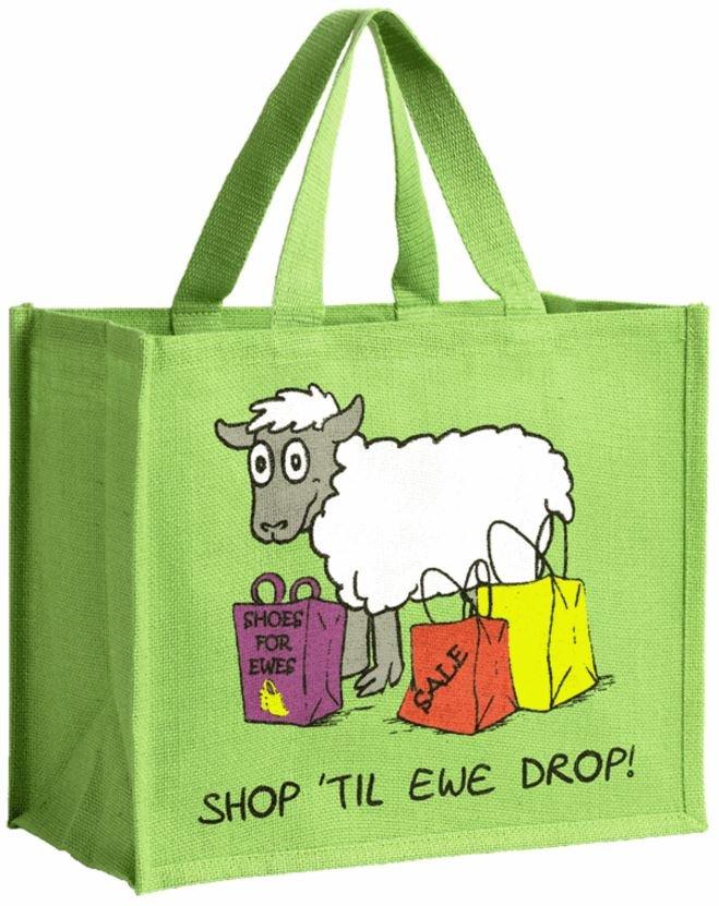 Shopping Bag - Shop Til Ewe Drop - Dublin Gift Company
