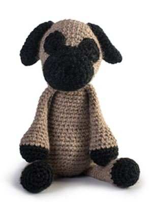 Spencer the Pug Crochet Kit - Toft UK