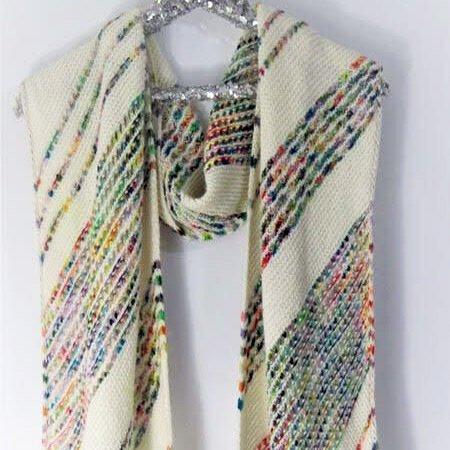 Splatter Paint Shawl Kit