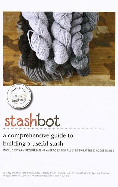 Stashbot by Never Not Knitting