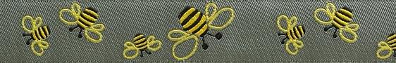 Bees Ribbon - Renaissance Ribbons