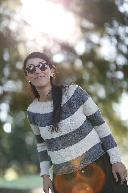 Super Simple Summer Sweater - digital pattern