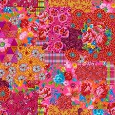 Velvet Patch Pink- Odile Bailloeul