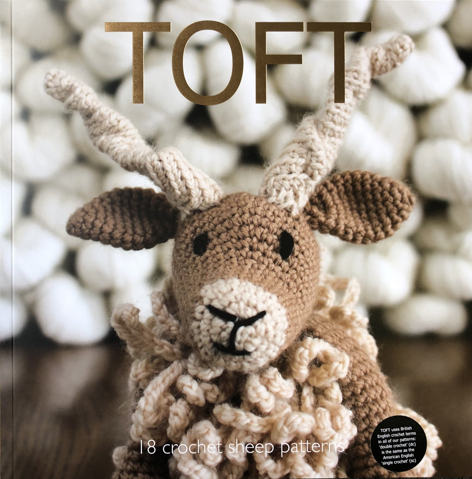 TOFT Quarterly: 18 crochet sheep patterns