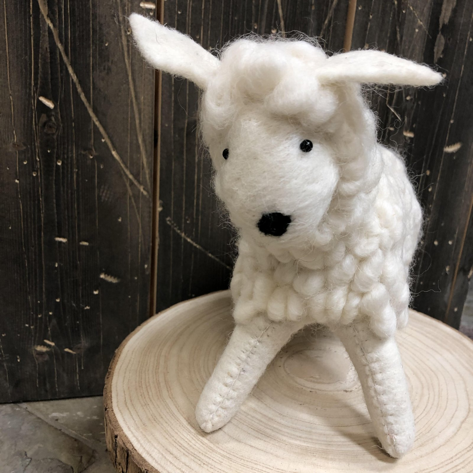 Wool Felt Sheep 9