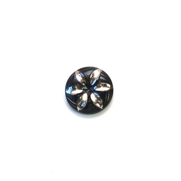 Flower Vintage Button