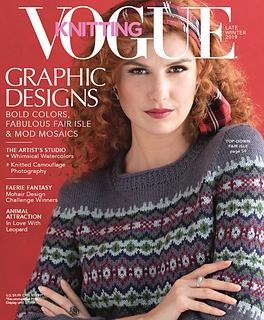 Vogue Knitting Late Winter 2019