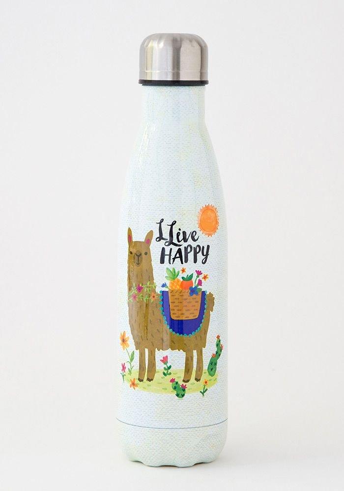Llive Happy Llama Water Bottle