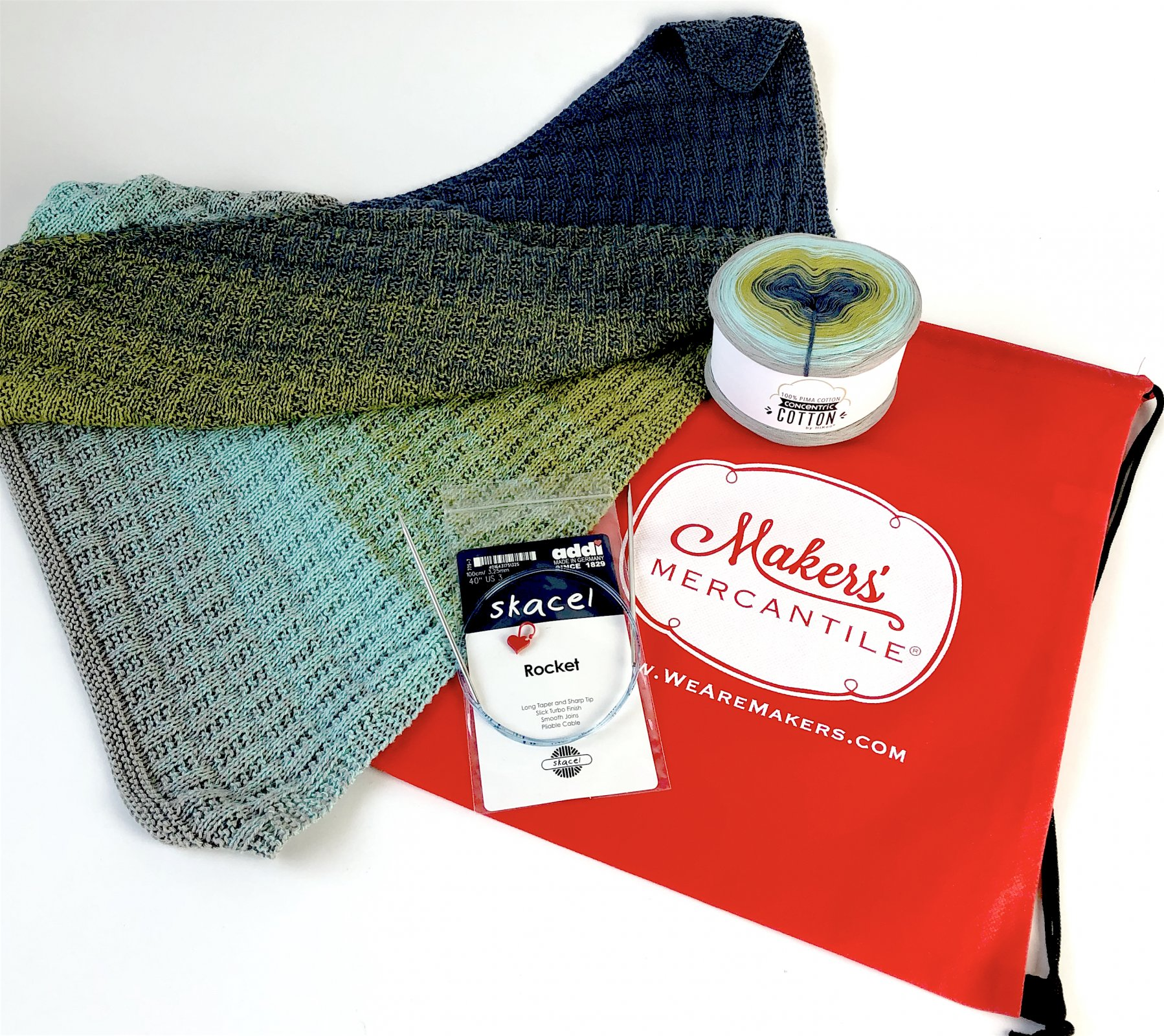 Knit the Perfect Summer Shawl Kit