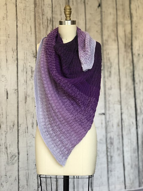 WeAreMakers shawl pattern .pdf download