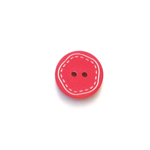 White Stitching Plastic Buttons