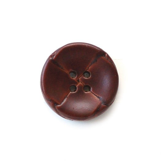 Woven Leather Buttons