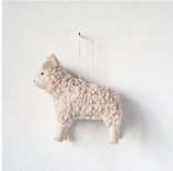 Wool Felt Sheep Ornament 9