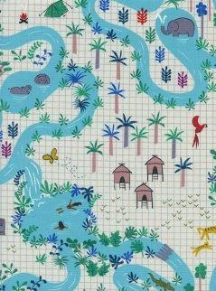 Lagoon Map Natural
