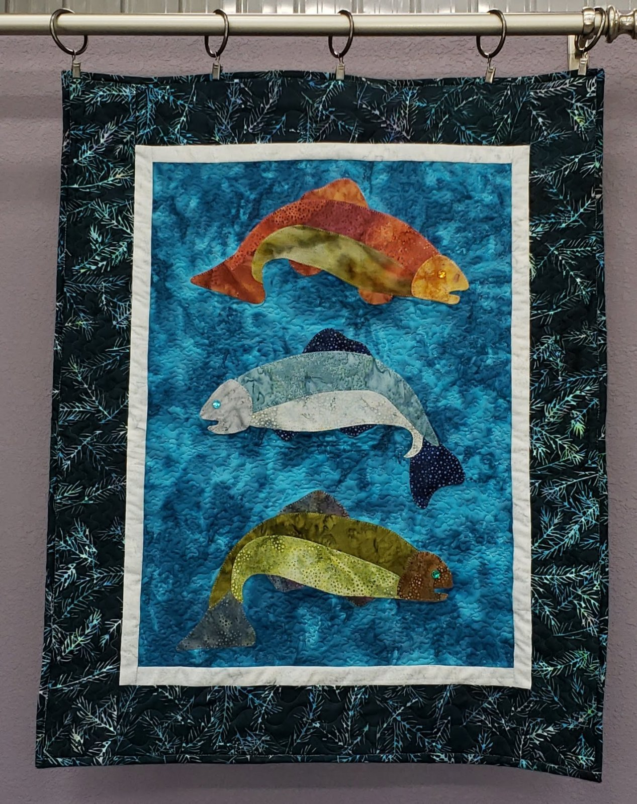 Fish Tales Batik Kit