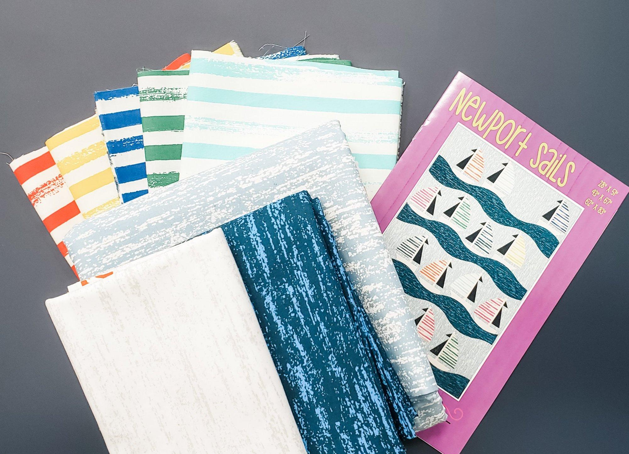 Sailboat Quilt Kit