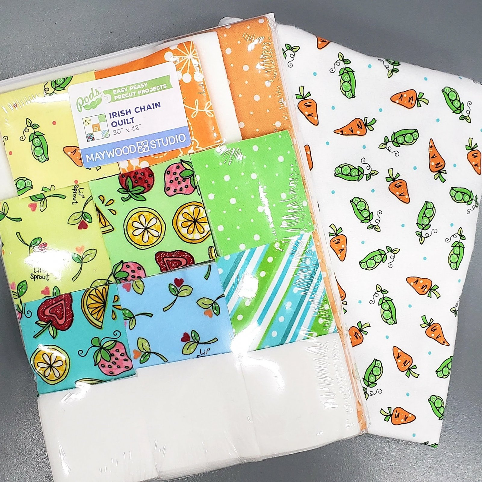 Lil' Sprout Flannel Baby Quilt Kit