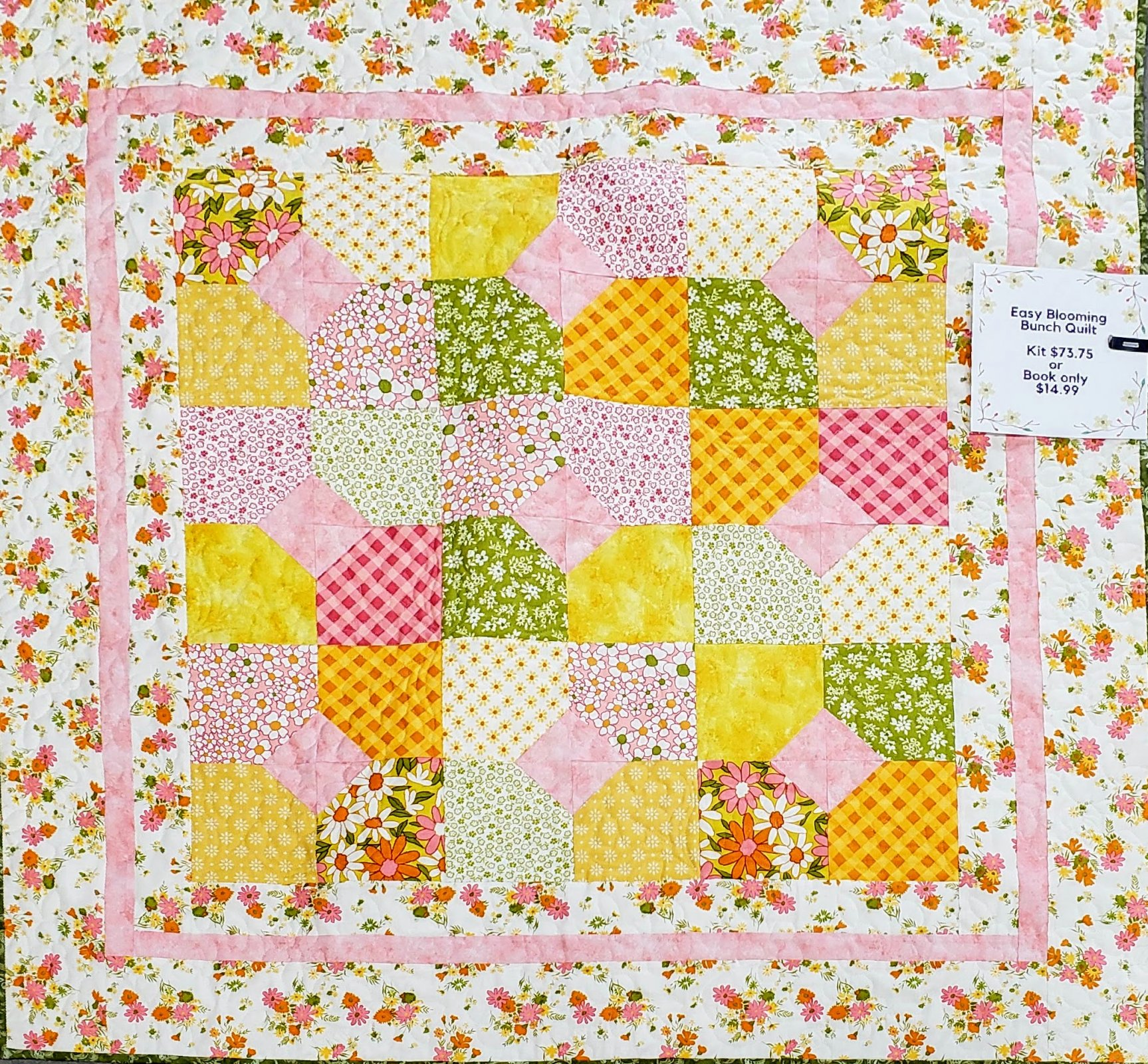 Easy Blooming Bunch Quilt Kit