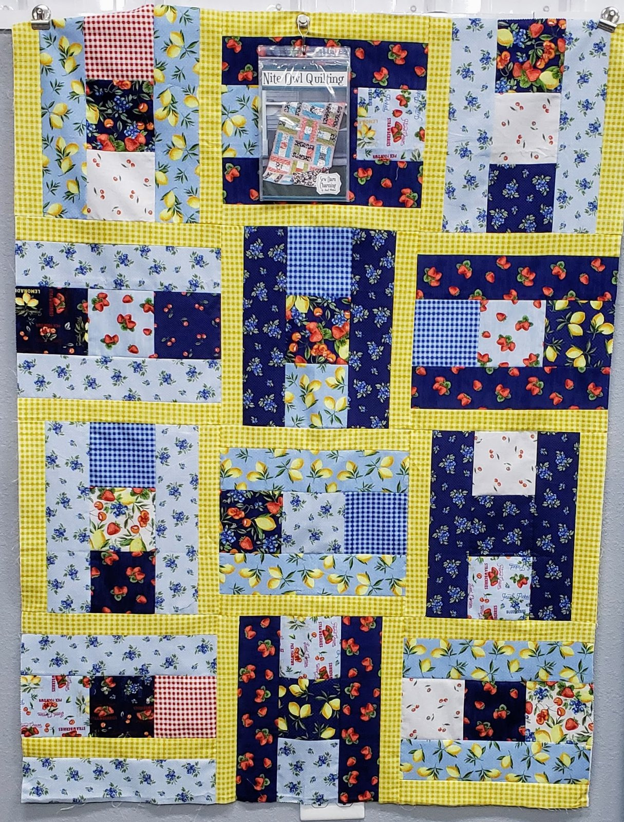 Sew Berry Best Charming Quilt Kit