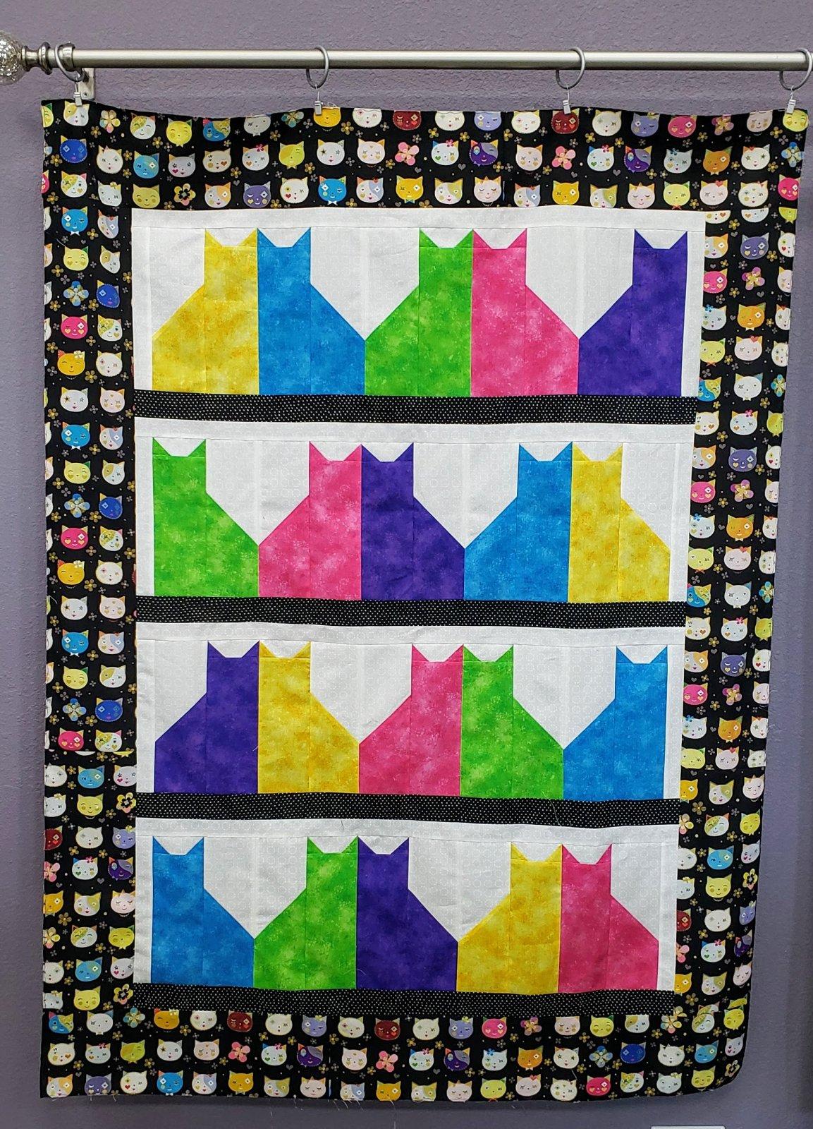 Cat City Quilt Kit