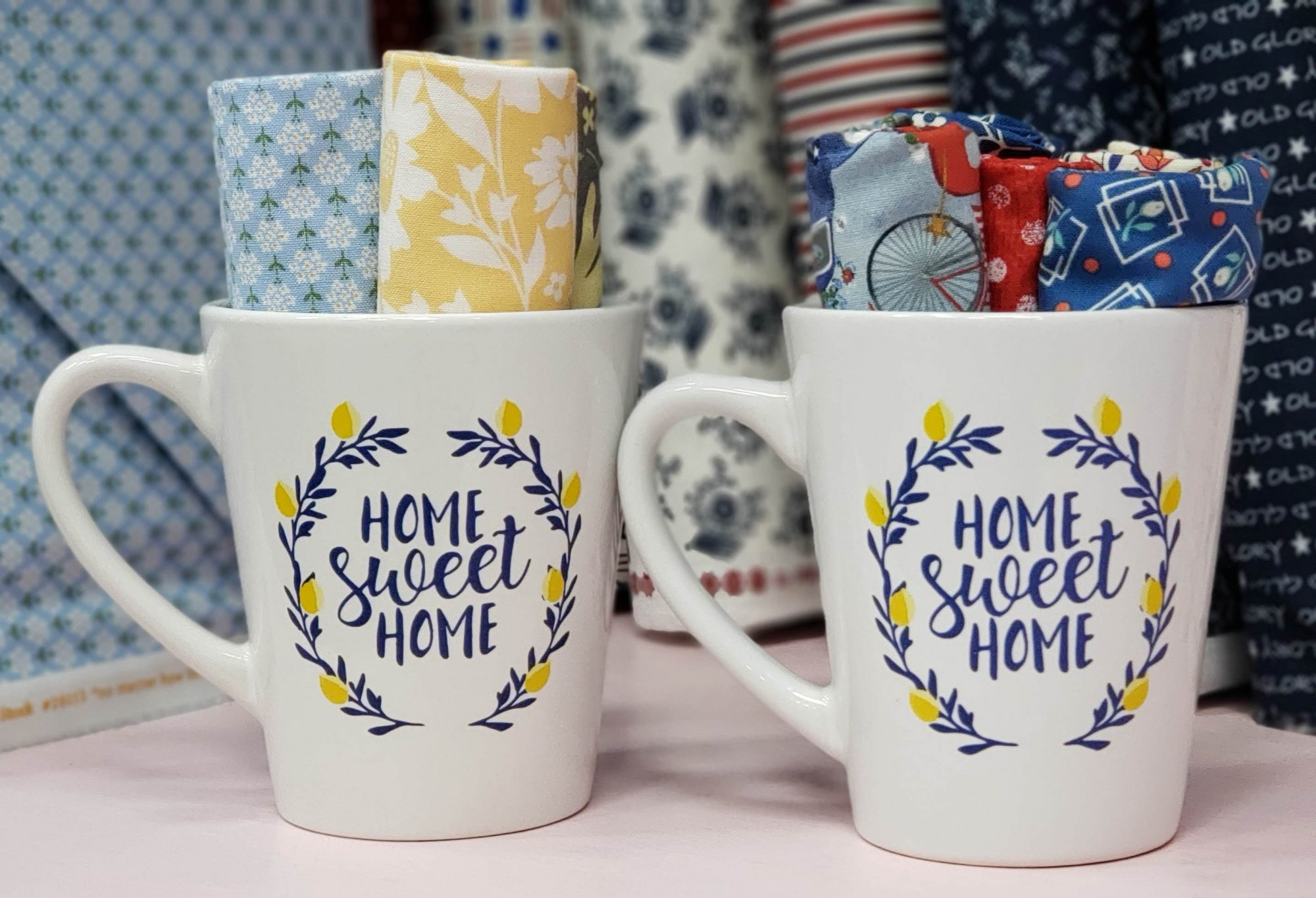 Cup of Home Sweet Home Fat Quarters