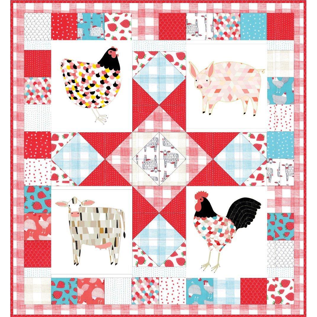 Farm Fresh Panel Quilt Kit