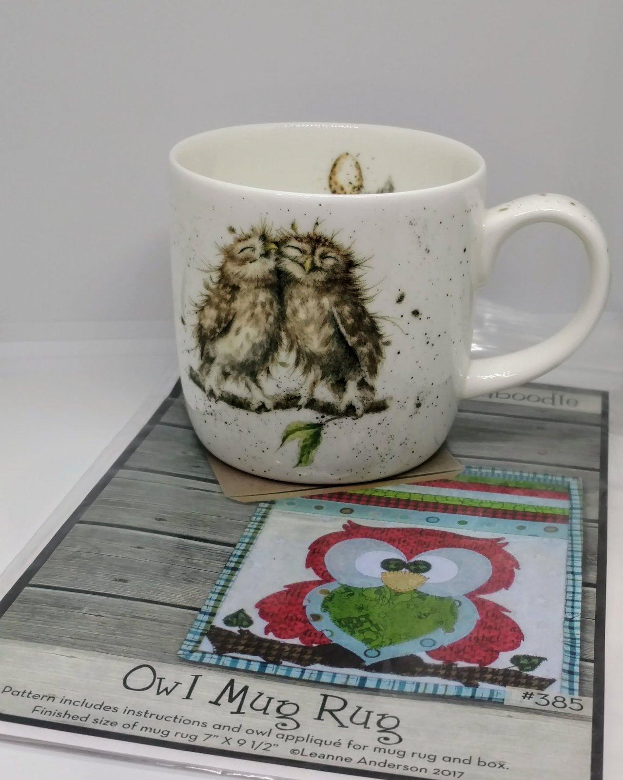Owl Mug and Rug Pattern Kit