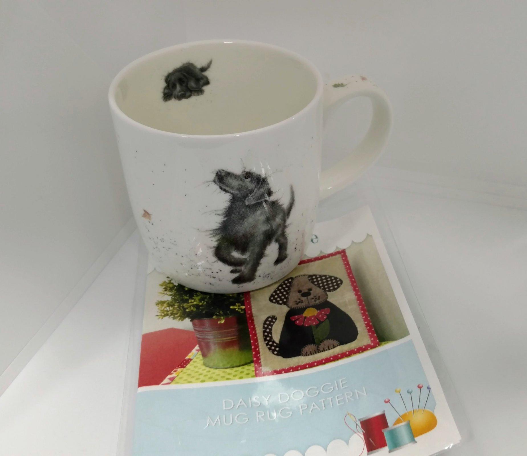 Dog Mug and Rug Pattern