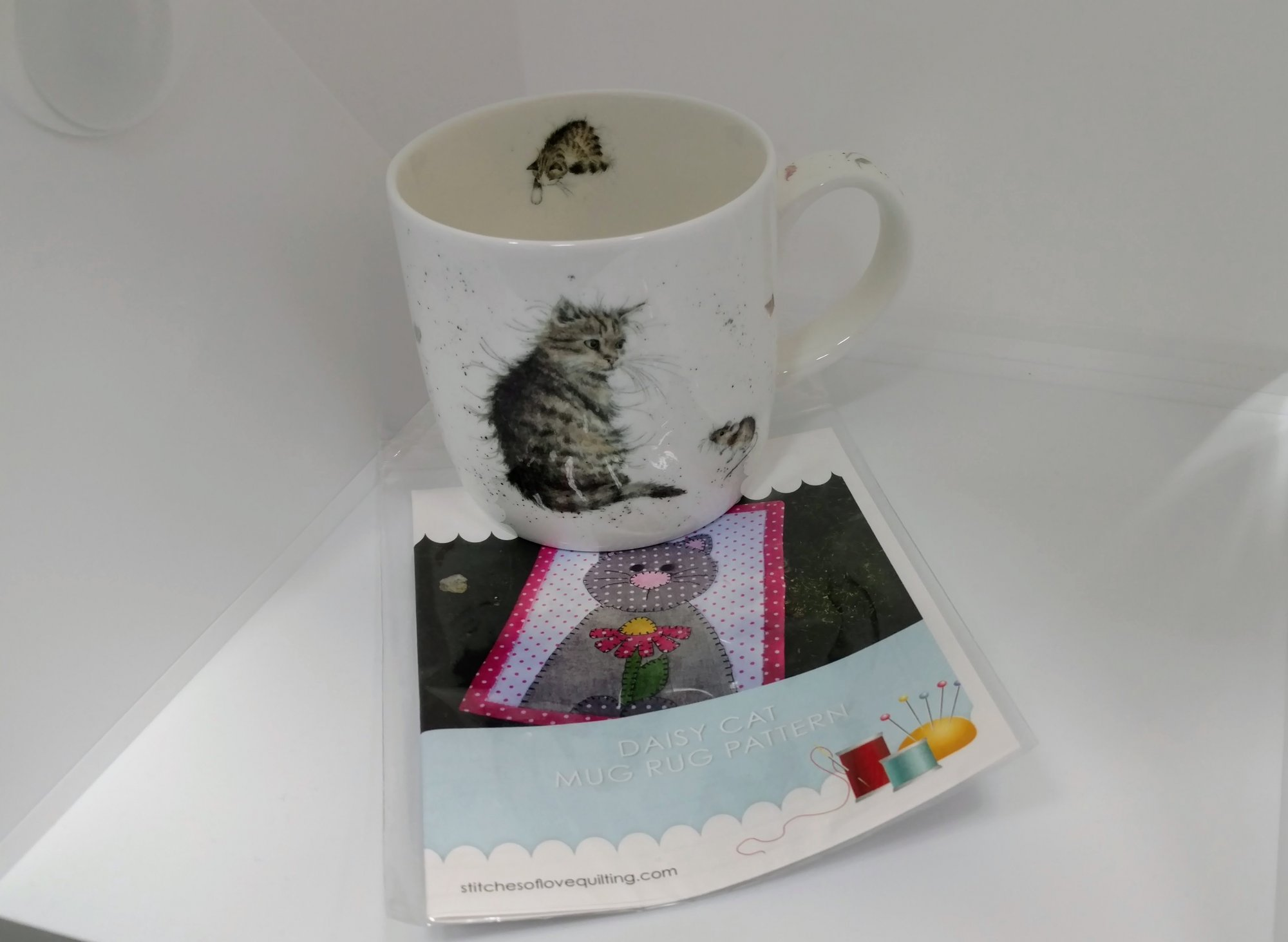 Cat Mug and Rug