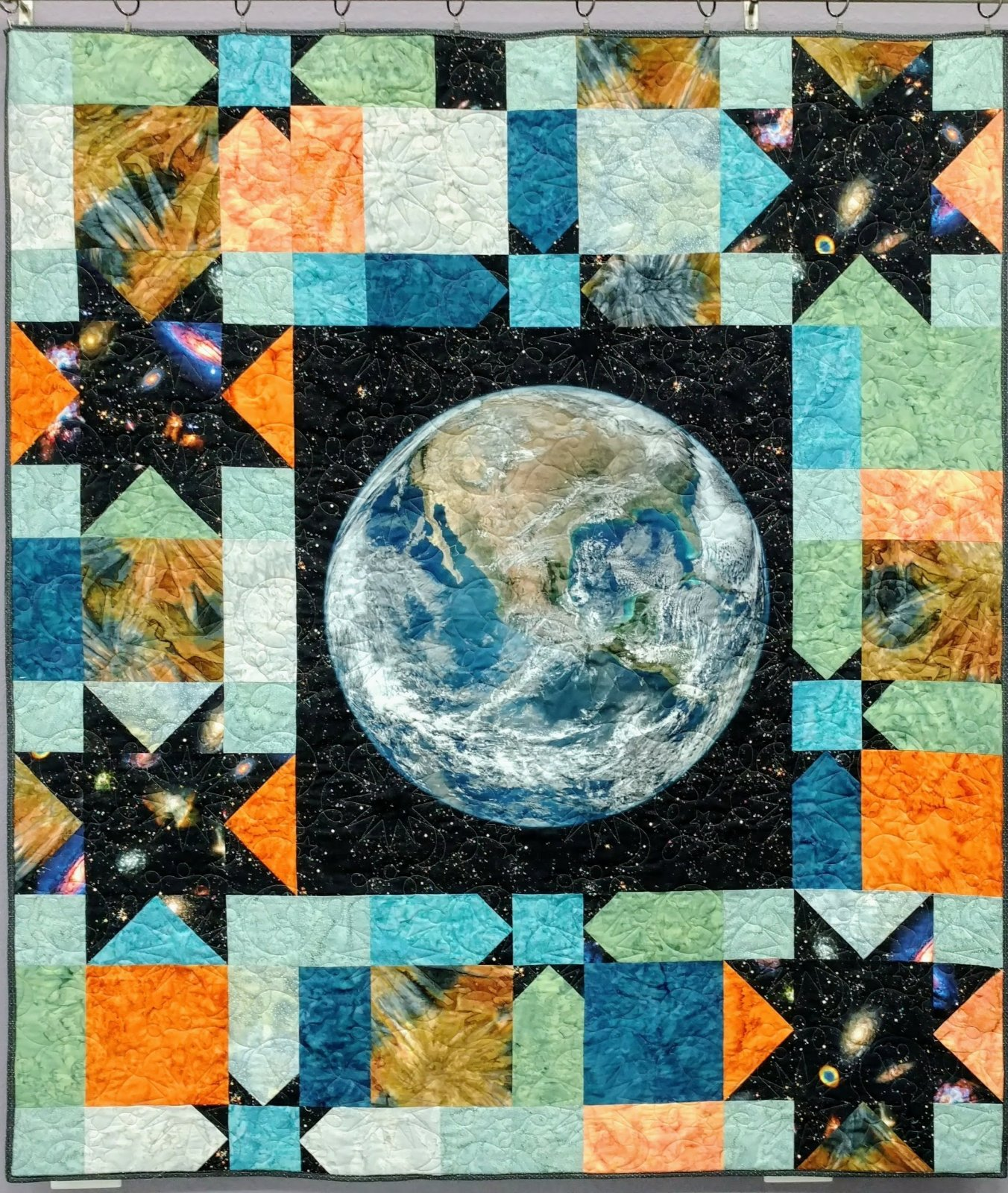 Heaven and Earth Quilt Kit