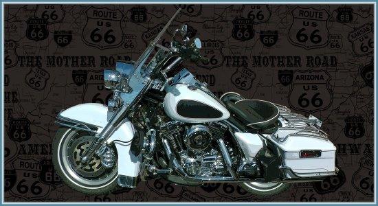Motorcycle Panel 24x43