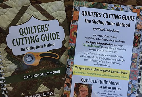 Quilters' Cutting Guide The Sliding Ruler Method