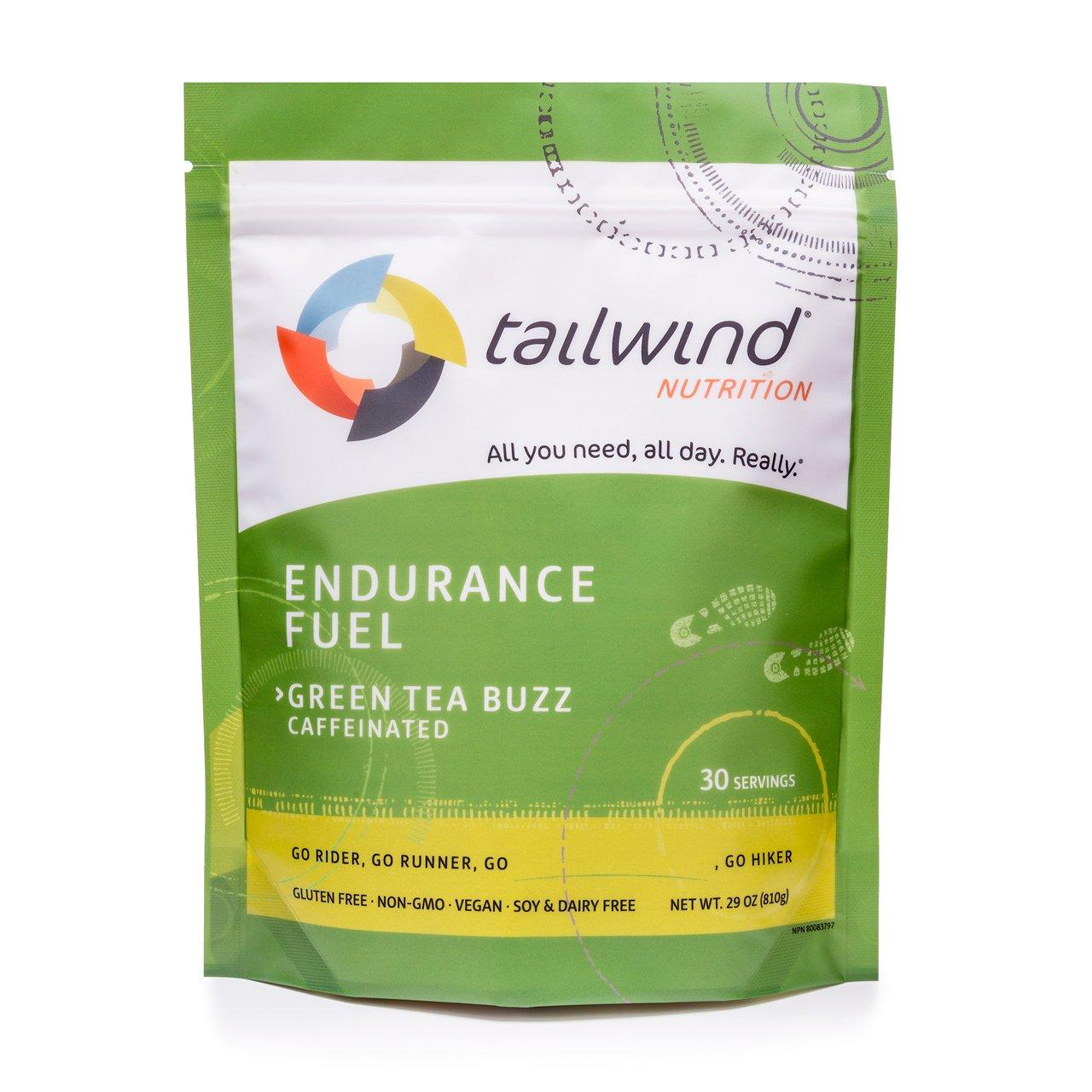 TAILWIND Endurance Fuel Caffeinated-Green Tea Buzz