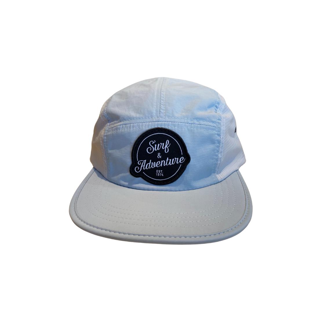 Surf & Adventure Retro 6 Panel Hat