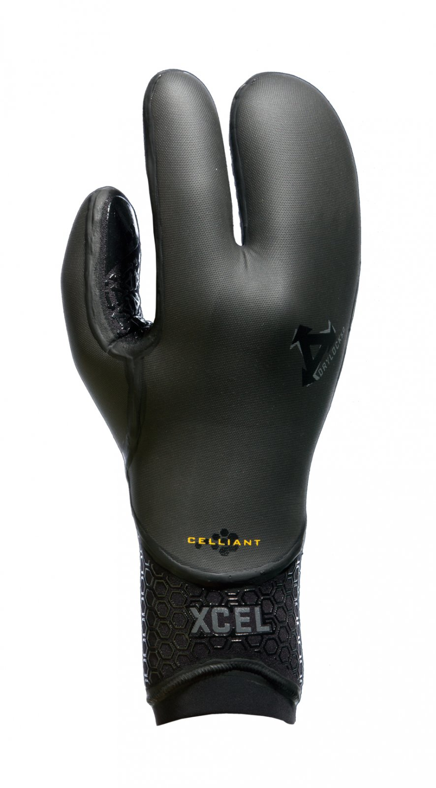 Xcel Drylock TDC 3-Finger Glove 5mm