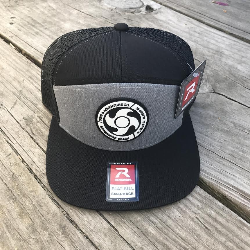 Flat Bill Logo Patch Hat