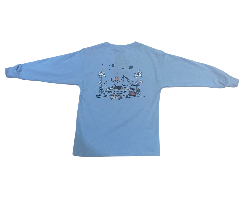 Youth S&A Camp Cosmic L/S Tee