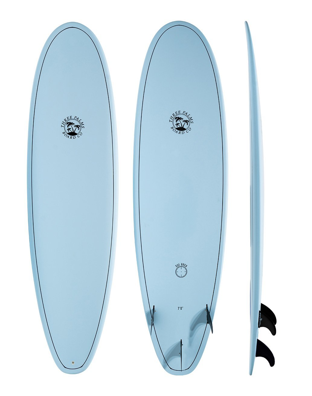 Three Palms Board Co Due Back Blackbird - MX (Online Only)