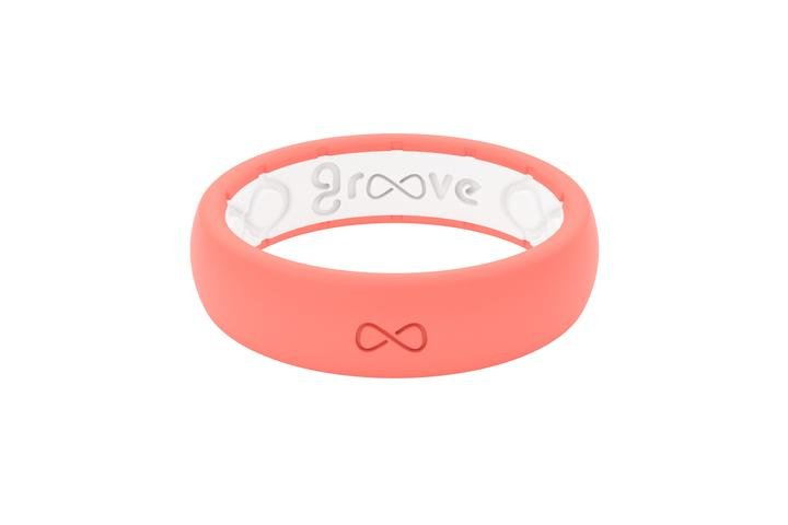 Groove Silicone Thin Ring