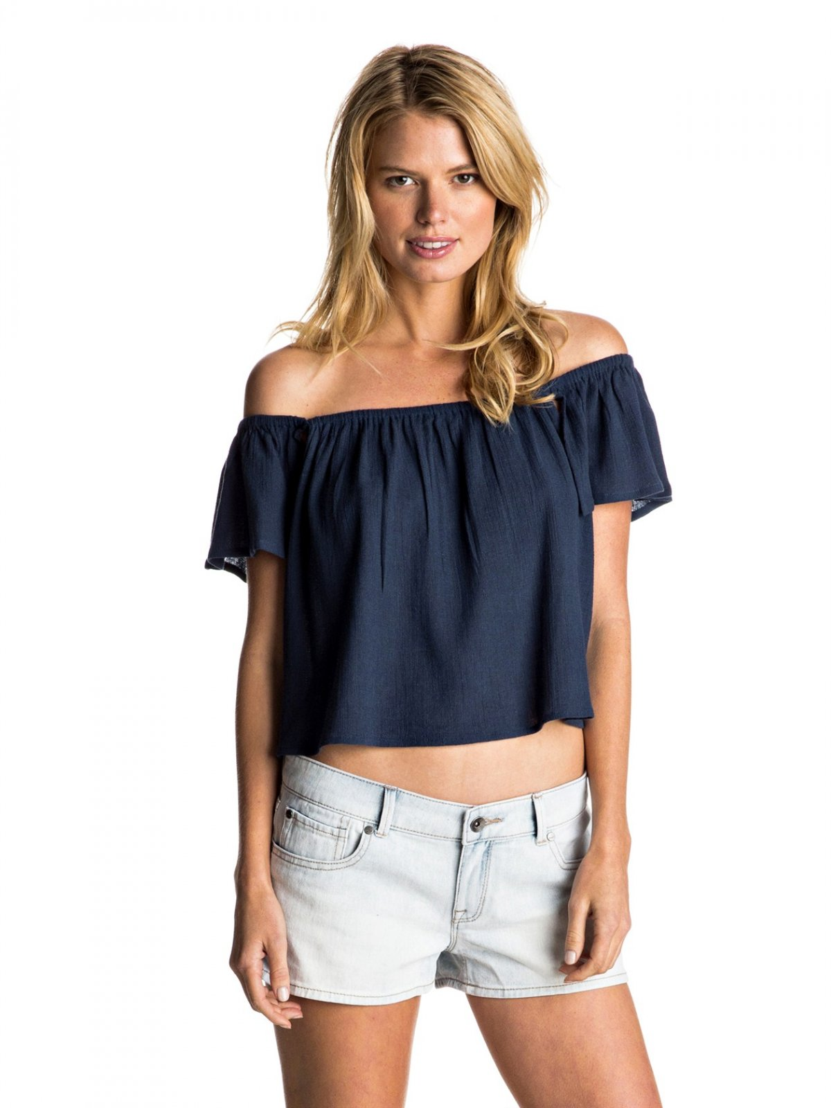 Princess In The Sea Cold Shoulder Top
