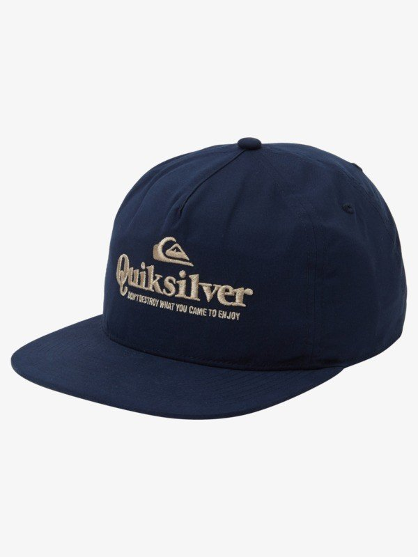 Slow Downtown Recycled Snapback Hat