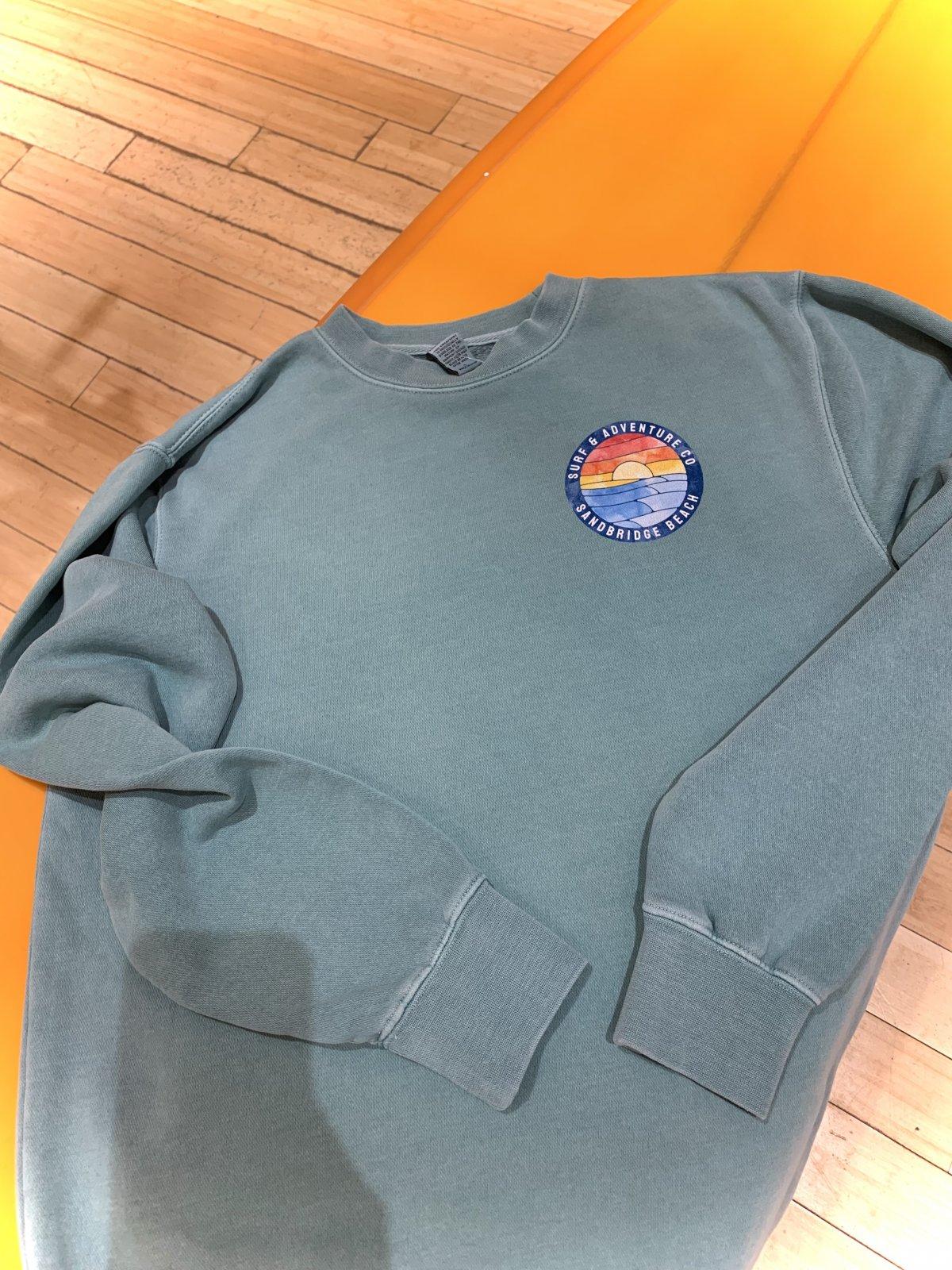 S&A Watercolor Waves Sweatshirt
