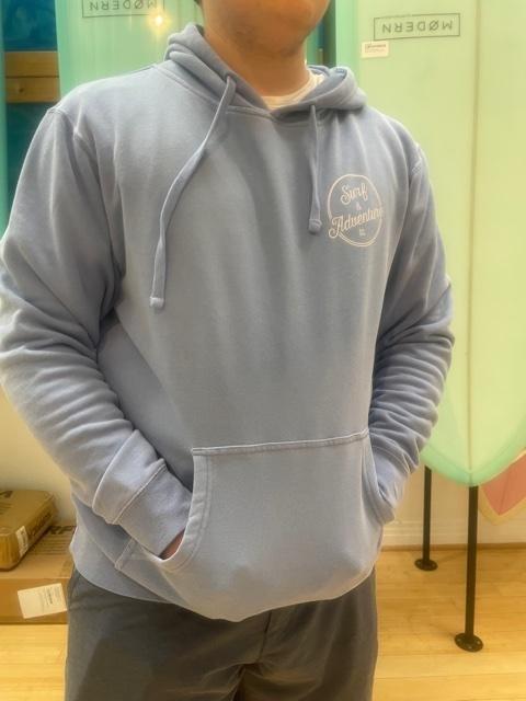 S&A Retro Carolinia Blue Sweatshirt